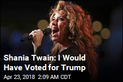 Shania Twain Sorry for Remarks on Trump