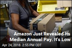 Amazon's Median Pay Figure Shows Most of Its Workforce Is Blue-Collar