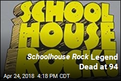Schoolhouse Rock Legend Dead at 94