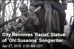 City Removes 'Racist' Statue of 'Oh! Susanna' Songwriter