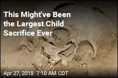 This Might've Been the Largest Child Sacrifice Ever