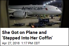 Airline Lawsuit: 'She Stepped Into Her Coffin'