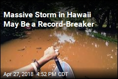 Massive Storm in Hawaii May Be a Record-Breaker