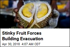 Stinky Fruit Forces Building Evacuation