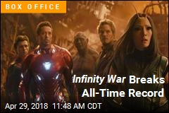 Infinity War Kills It With $250M Bow