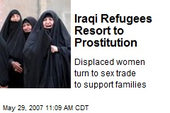 Iraqi Refugees Resort to Prostitution
