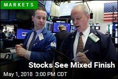 Stocks See Mixed Finish