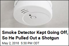 Attempt to Silence Smoke Detector Ends in Mayhem