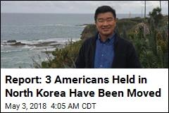 Report: N. Korea Is Preparing to Release 3 Americans