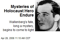 Mysteries of Holocaust Hero Endure