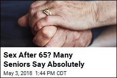 Poll Says Seniors Are Having Sex and Happy About It