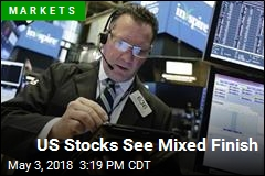 US Stocks See Mixed Finish