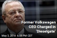 Former Volkswagen CEO Charged in 'Dieselgate'