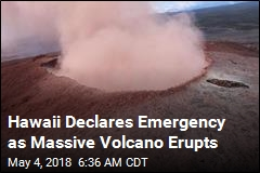 After Days of Quakes, Hawaii Volcano Erupts
