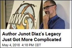 Author Junot Diaz's Legacy Just Got More Complicated