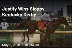 Justify Wins Sloppy Kentucky Derby