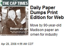 Daily Paper Dumps Print Edition for Web