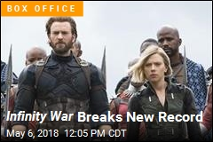 Infinity War Breaks New Record