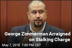George Zimmerman Arraigned on Stalking Charge