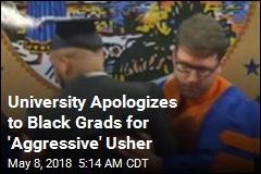 University Apologizes to Black Graduates Manhandled Off Stage
