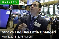 Stocks End Day Little Changed