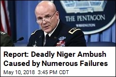 Report: Deadly Niger Ambush Caused by Numerous Failures