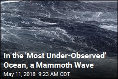 'Most Under-Observed' Ocean Sees Record-Setting Wave