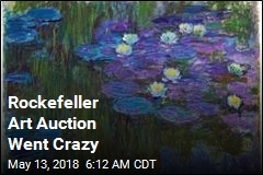 Rockefeller Art Auction Went Crazy