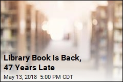 Library Book Returned 47 Years Overdue