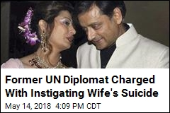 Indian Lawmaker Charged With Instigating Wife's Suicide