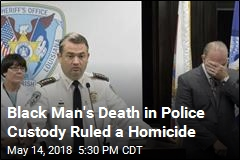 Black Man's Death in Police Custody Ruled a Homicide