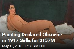 $157M Modigliani Nude Smashes Sotheby's Record