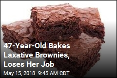 Woman Loses Her Job Over Laxative Brownies