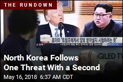 North Korea Follows One Threat With a Second