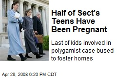 Half of Sect's Teens Have Been Pregnant