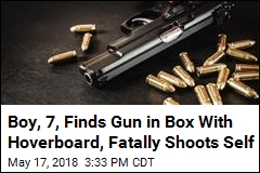 Boy, 7, Finds Gun in Box With Hoverboard, Fatally Shoots Self