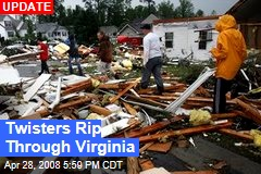 Twisters Rip Through Virginia