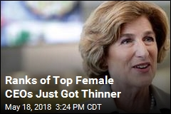 Ranks of Top Female CEOs Just Got Thinner