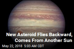 Scientists Find Asteroid From Distant Sun Near Jupiter