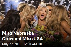 Miss Nebraska Crowned Miss USA