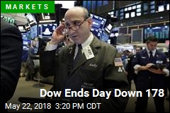 Dow Ends Day Down 178