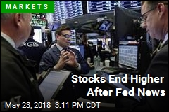 Stocks End Higher After Fed News