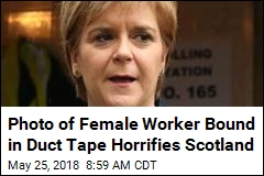 Scottish Leader 'Horrified' at Photo of Bound Female Worker