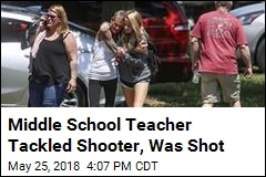 Middle School Teacher Tackled Shooter, Was Shot