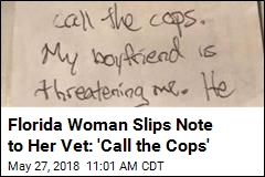 Woman's Secret Note to Vet May Have Saved Her Life