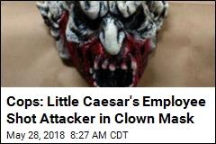 Cops: Little Caesar's Employee Shot Attacker in Clown Mask