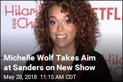 Michelle Wolf Takes Aim at Sanders on New Show
