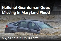 National Guardsman Goes Missing in Maryland Flood