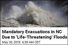 Mandatory Evacuations in NC Due to 'Life-Threatening' Floods