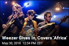 Weezer Gives In, Covers 'Africa'